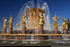 ВВЦ (ВДНХ), фонтан «Дружба народов»