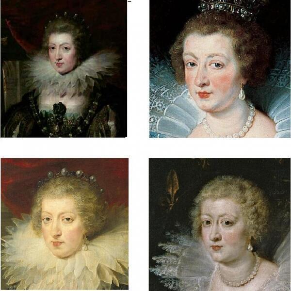 Анна Австрийская, королева Франции