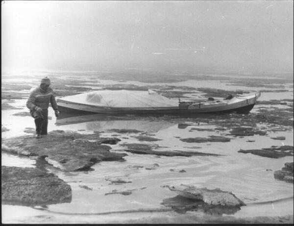 Льды Карского моря встретили Смургиса в устье реки Обь