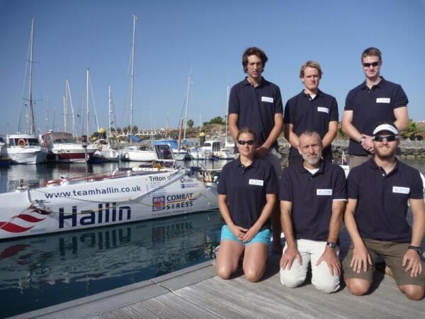 Команда «Hallin Marine» перед стартом на Канарских островах
