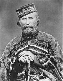 Дж. Гарибальди (1866)— бестрашный патриот и«стильный» мужчина