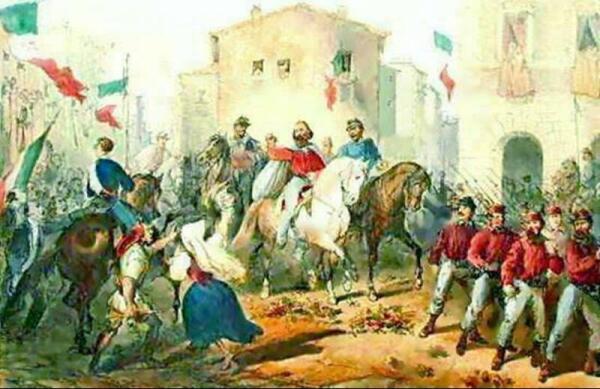 Гарибальдийцы освобождают Сицилию