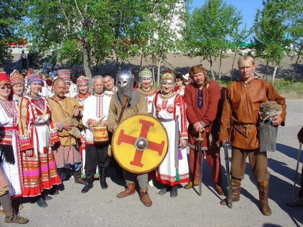 Праздник в городе Чебоксары