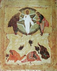 Андрей Рублёв. Преображение Господне. 1405 г