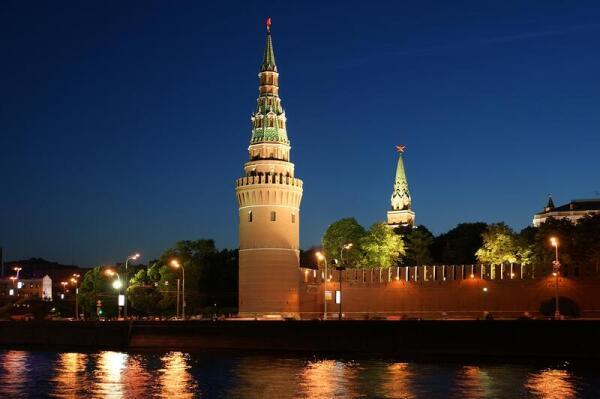 Красные звёзды московского Кремля