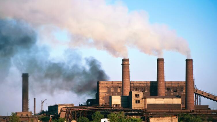 Алчевск. Старинные заводские трубы