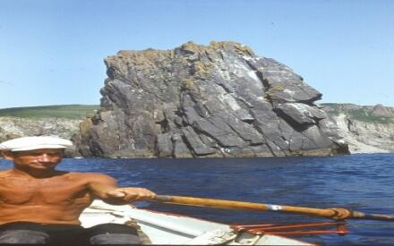Евгений Смургис 1983 год. На пути к Владивостоку. У границы Охотского и Японского морей
