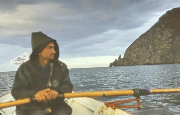 Август 1983 г. Евгений Смургис в Японском море