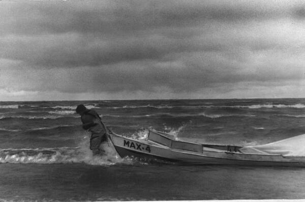 Август 1978, Карское море. Иду на восток при северном ветре