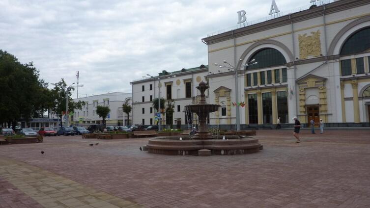 Привокзальная площадь Витебска