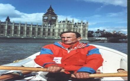 Смургис на Темзе. Лондон, сентябрь 1993 г.