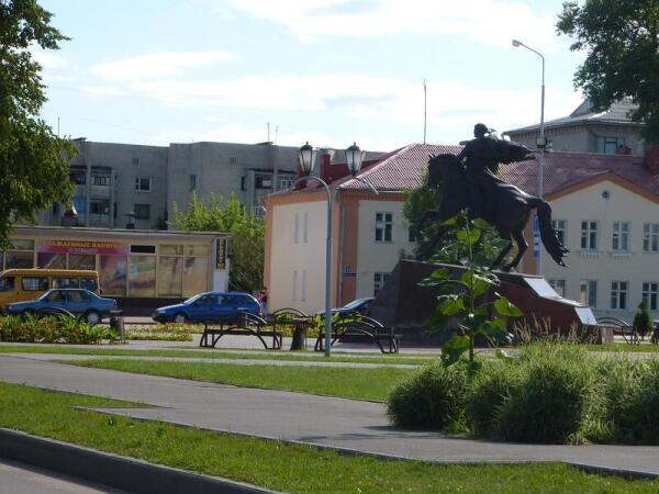 Конный монумент князю Всеславу Брячиславичу