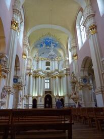 Внутри Софийского  собора - концертный зал