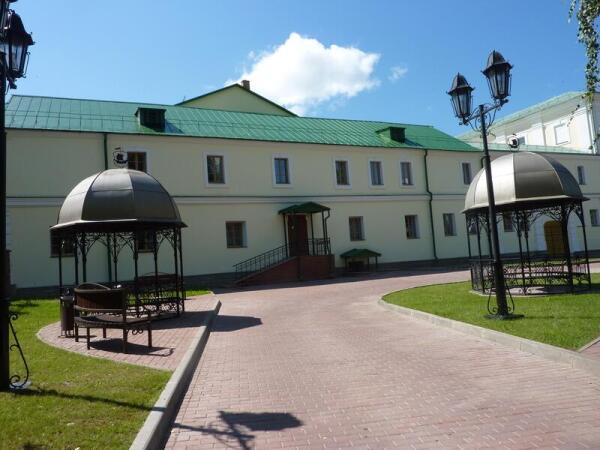Территория бывшего Иезуитского коллегиума - ныне Полоцкого университета