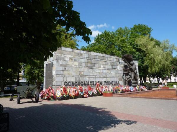 Мемориал Освободителям Полоцка  на Площади свободы