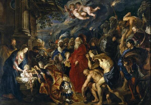 П.П. Рубенс. Поклонение волхвов