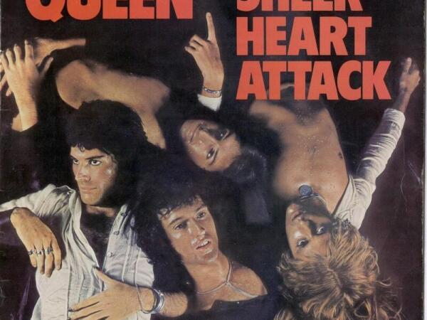 Обложка диска «Sheer heart attack» (1974)