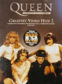 На обложке «Greatest video hits 2» можно увидеть участников QUEEN в образах клипа «I Want To Break Free»