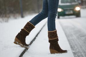 Как ухаживать за ножками в зимний период?