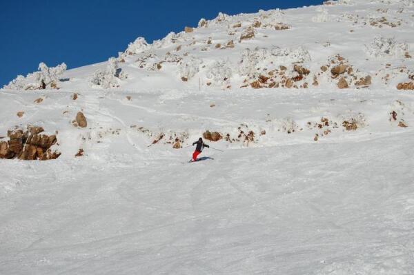 На склоне горы Хермон