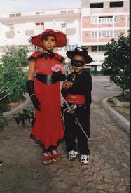 Карнавал в Минделу-Сеньор и сеньорита