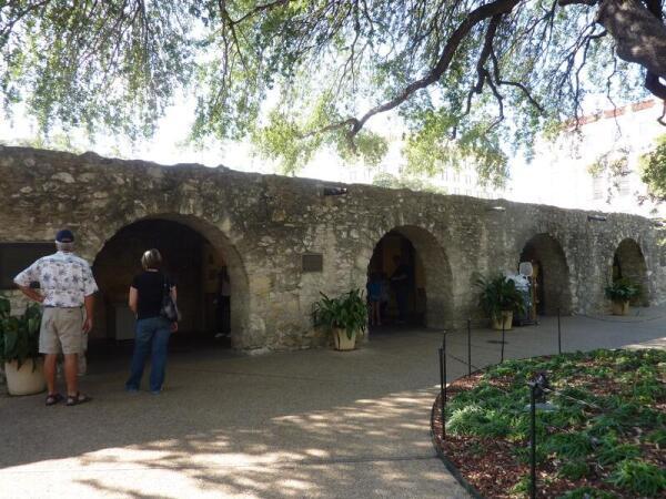 Одна из стен внутри крепости