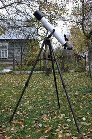 Телескоп на даче