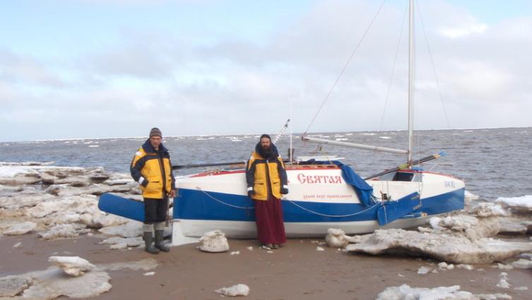 Среди льдов во время отлива