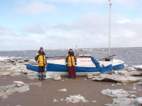 Лодка «Русь Святая»: Крестный ход от Архангельска до Диксона?