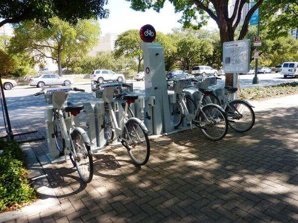 Здесь можно взять велосипед напрокат
