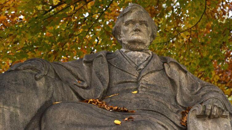 Памятник Рихарду Вагнеру в Мюнхене
