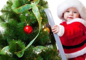 Первый Новый год малыша. Как его отпраздновать?