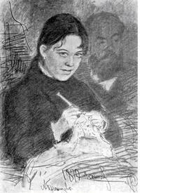 Портрет Эмилии Праховой