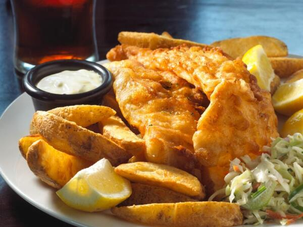 Знаменитые Fish and Chips