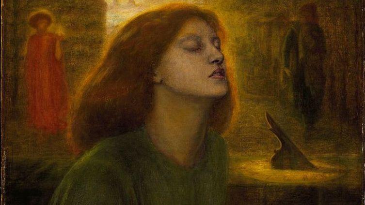 «Beata Beatrix», фрагмент