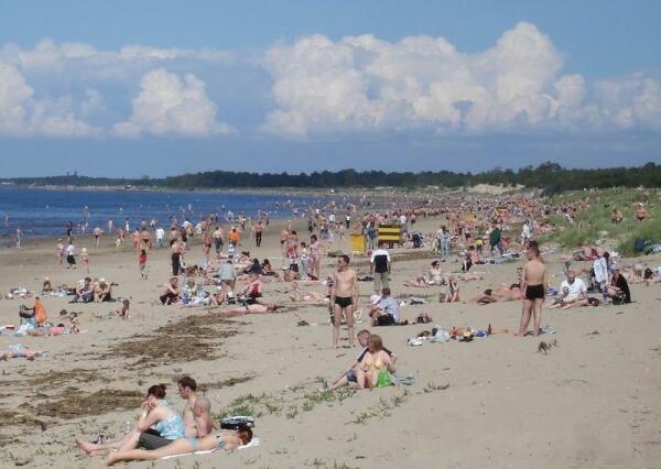 Ягры не Гагры, но пляж имеется