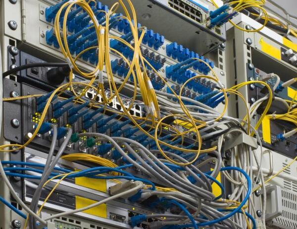 Серверы в дата-центре