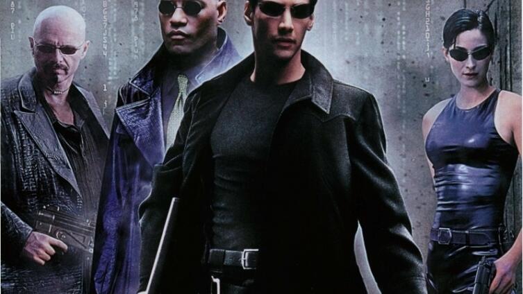 «Матрица». Фрагмент постера