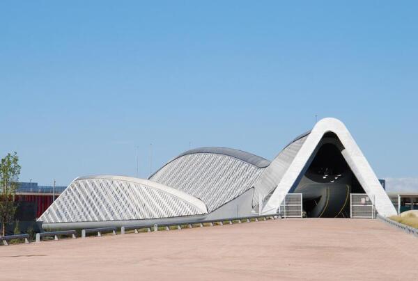 Мост-павильон, Сарагоса, Испания