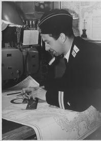 Штурман на вахте. Северный флот, 1958 год
