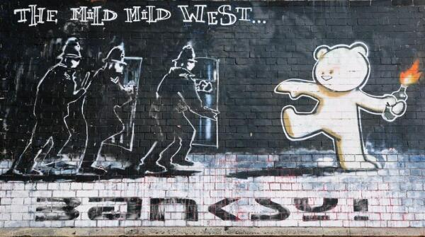 Человек – загадка? Граффити Бэнкси