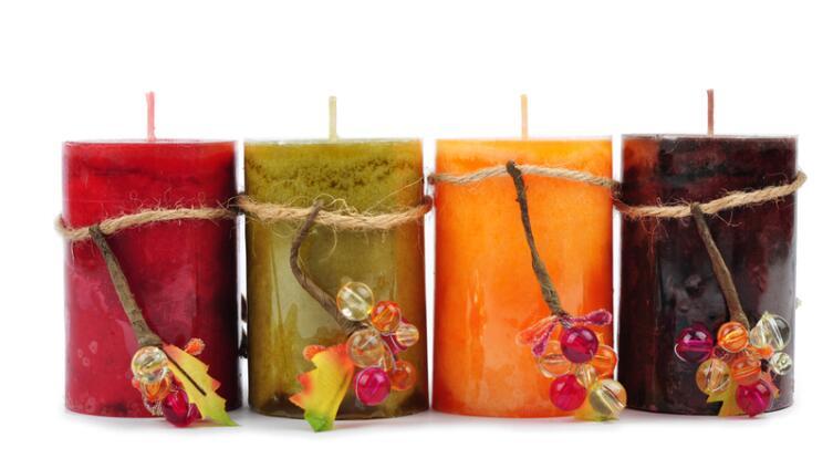 Как самому сделать декоративную свечу?