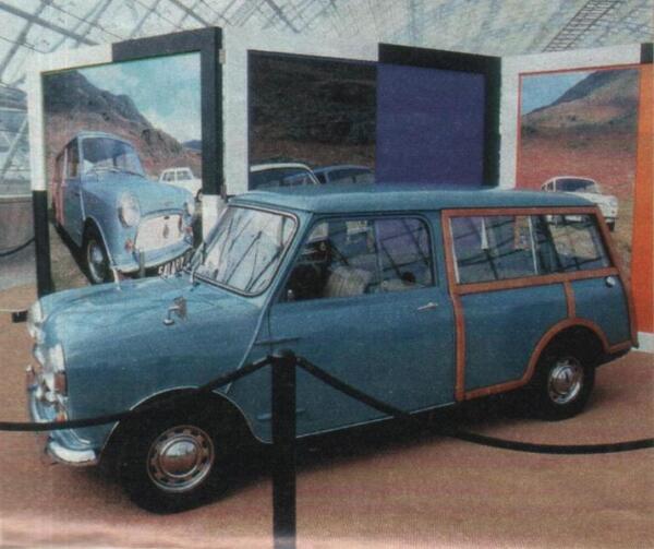 Грузопассажирская модификация, известная как Morris Traveller и Austin Countryman.