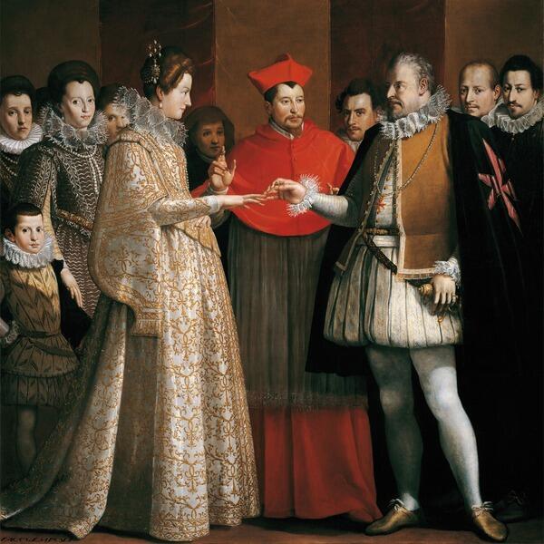 Джакопо Чименти. «Брак по доверенности». 1600 год