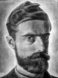 М. К. Эшер «Автопортрет»