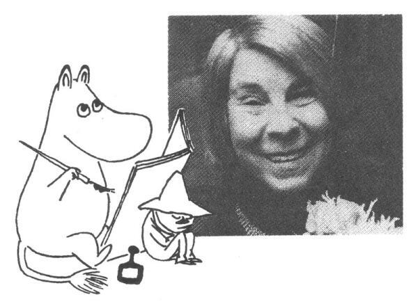 Туве Марика Янссон (09.08.1914-27.06.2001) - самая переводимая писательница Финляндии