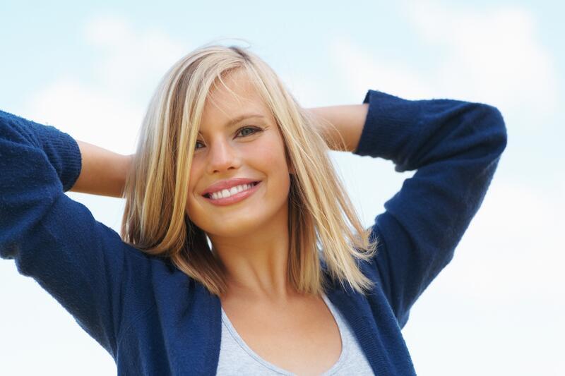 Можно ли изменить жизнь, перекрасив волосы? блондинка