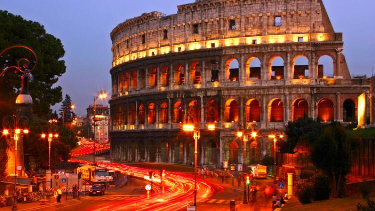 Знаменитый римский Колизей