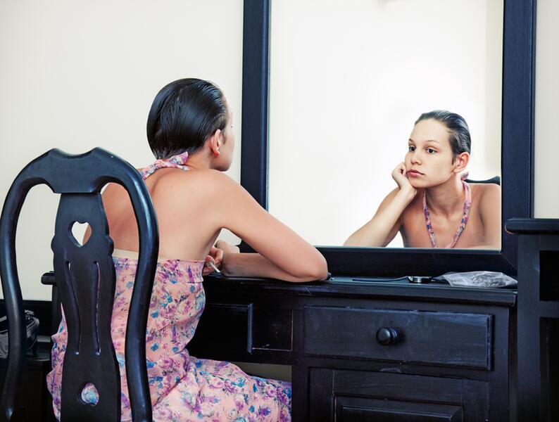 О чем говорит зеркало? О привлекательности и...