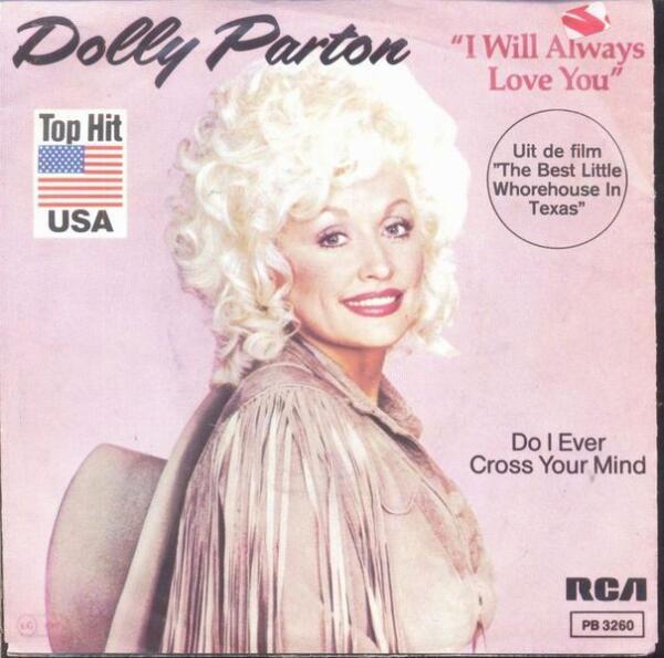 Переиздание сингла «I Will Always Love You» Долли Партон в 1982 году
